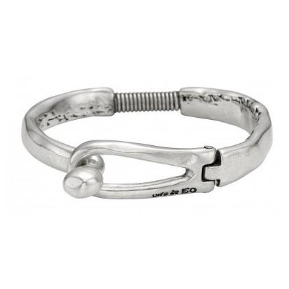 Bracelet UNO DE 50 - Pulsera de trapo