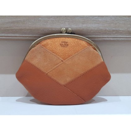 Porte-monnaie ORO BIG SPARK ORANGE - Mila Louise