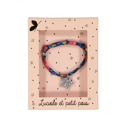 Bracelet – Liberty Wiltshire nausicaa - Luciole et Petit Pois