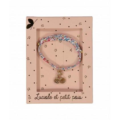 Bracelet – Liberty Katie & millie carnaval - Luciole et Petit Pois