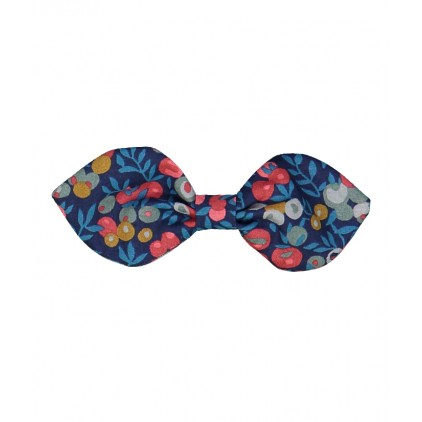 Barrette noeuds lapin – Liberty Wiltshire nausicaa – Luciole et Petit Pois
