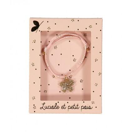 Bracelet Liberty – Capel rose nude - Luciole et Petit Pois
