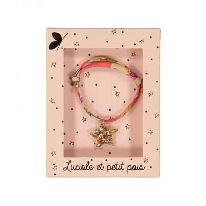 Bracelet Liberty – Betsy fluo thé - Luciole et Petit Pois