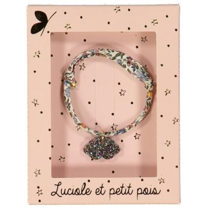 Bracelet Liberty Katie et Millie nuage - Luciole et Petit Pois
