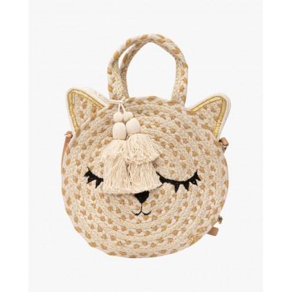 Petit sac rond tête de chat fauvette - LOLLIPOPS