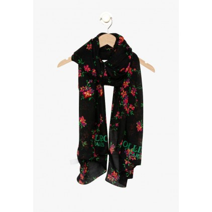 Foulard noir cerisier Frippon - LOLLIPOPS