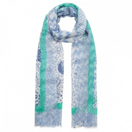 Foulard BLUE PRINT STRUCTURED - CODELLO