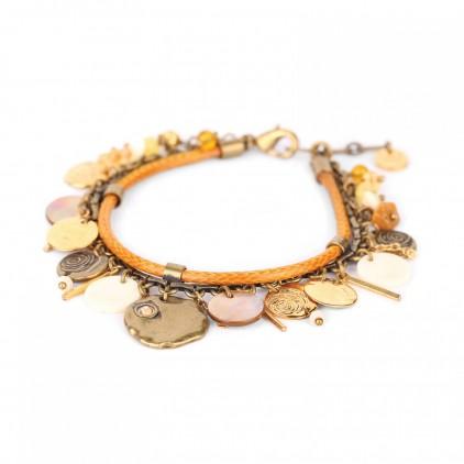 AMANDINE - bracelet multipampilles - Franck Herval