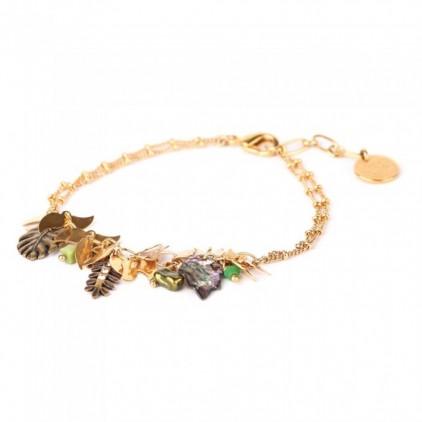 LEELOU - bracelet chaine multipampilles - Franck Herval