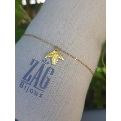 Bracelet feuille - ZAG