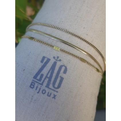 Bracelet 3 chaines - ZAG
