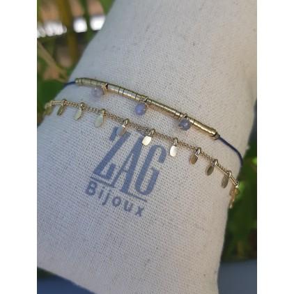 Bracelet 2 rangs - ZAG