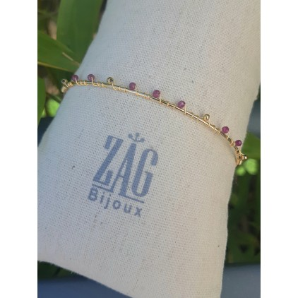 Jonc fin perles - ZAG