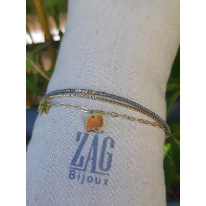 "Bracelet ""Maman"" - ZAG"