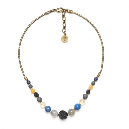 BLUE TRIBE - collier dégradé - Nature Bijoux