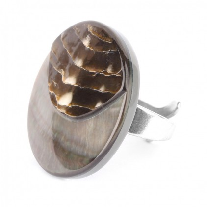 FIFTY SHADES - bague ronde - Nature Bijoux