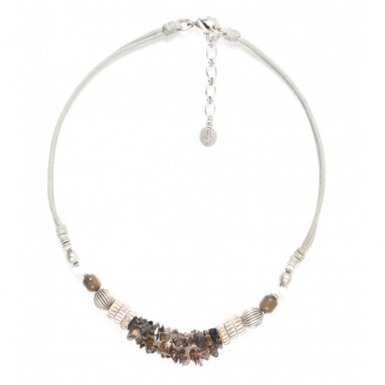 FIFTY SHADES - collier mix - Nature Bijoux