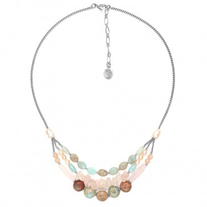 Manyara Collier 3 rangs - Nature Bijoux