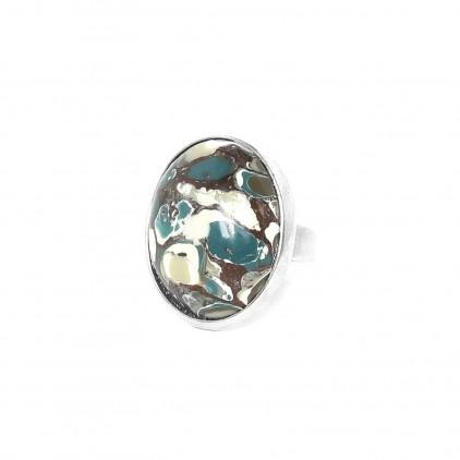 Greenway Bague ovale ajustable - Nature Bijoux