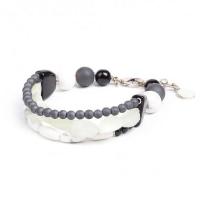 SUMATRA - bracelet 3 rangs - Nature Bijoux