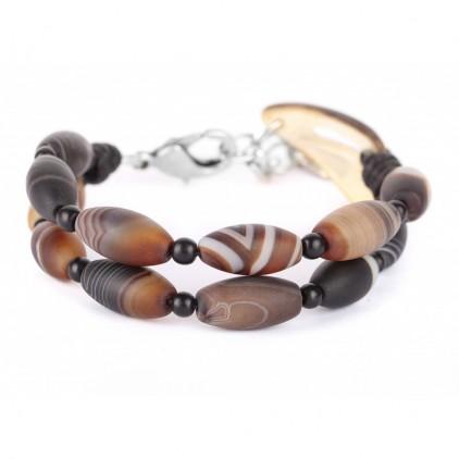 AMA DABLAM - bracelet 2 rangs - Nature Bijoux
