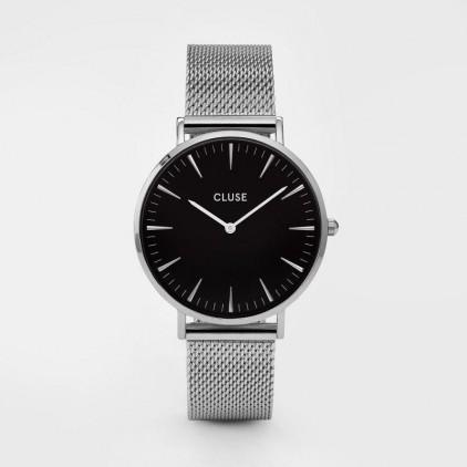 La Bohème Mesh Silver Black/Silver - CLUSE