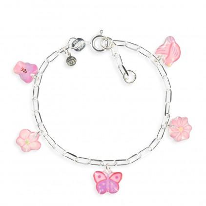 Bracelet figaro papillon - Ribambelle Bijoux