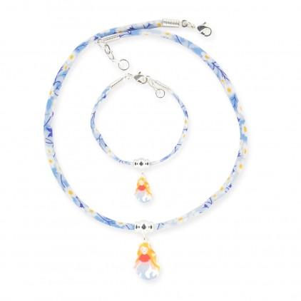 Collier et Bracelet Liberty Sirène - Ribambelle Bijoux