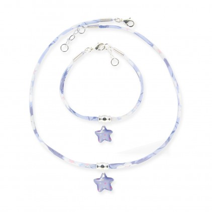Collier et Bracelet Liberty Etoile de mer - Ribambelle Bijoux