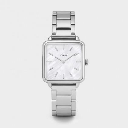 La Tétragone Three Link Silver/White Pearl - CLUSE