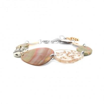 Naturaliste Bracelet 8 éléments - Nature Bijoux