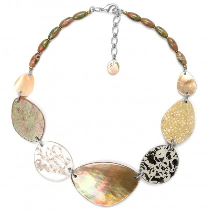 Naturaliste Collier 7 éléments - Nature Bijoux