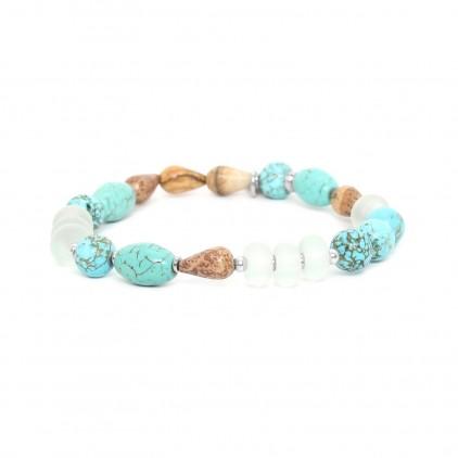 Surigao Extensible perles diverses - Nature Bijoux