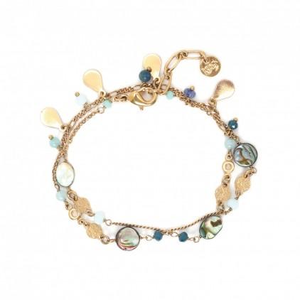 ELISA - bracelet 2 tours - Franck Herval