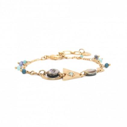 ELISA bracelet multi pampilles - Franck Herval