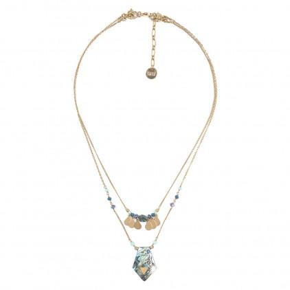 ELISA collier 2 en 1 pendentif Abalone - Franck Herval
