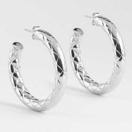 Boucles d'oreilles Chloé – Acier - ZAG