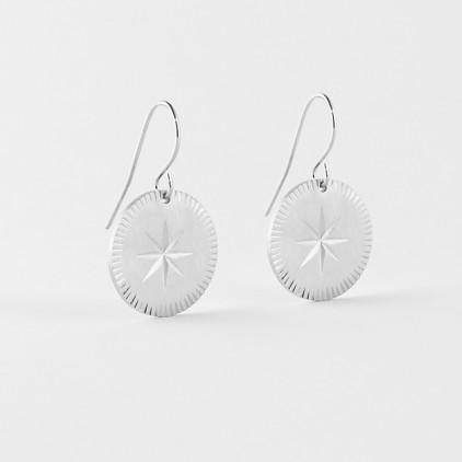 Boucles d'oreilles Hélios – Acier - ZAG