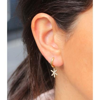 Boucles d'oreilles OCTOBREROSE - ZAG
