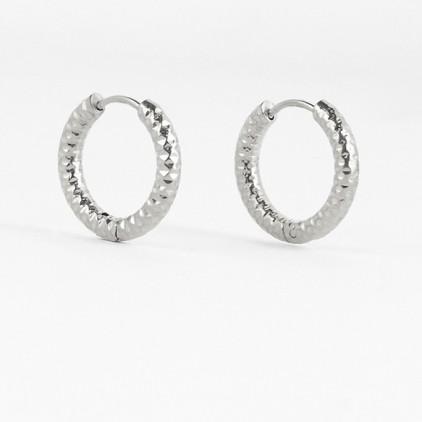 Boucles d'oreilles Hydra – Acier - ZAG