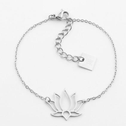 Bracelet Lotus – Acier - ZAG