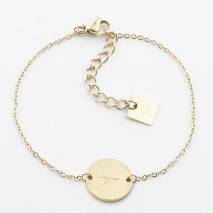 Bracelet Hélios – Acier doré - ZAG