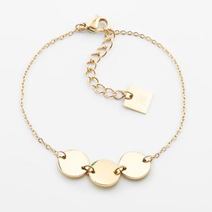 Bracelet Cardin – Acier doré - ZAG