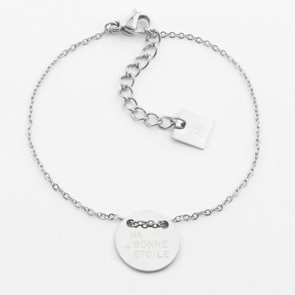 Bracelet Ma bonne étoile – Acier - ZAG