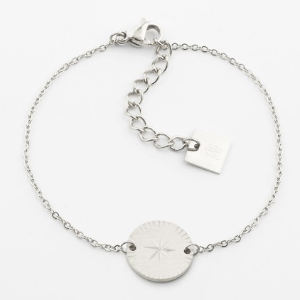 Bracelet Hélios – Acier - ZAG