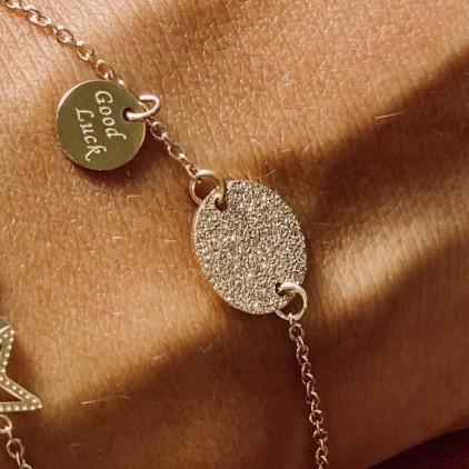 Bracelet Santa Sofia – Acier doré - ZAG
