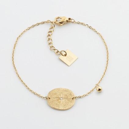 Bracelet Paros – Acier doré - ZAG
