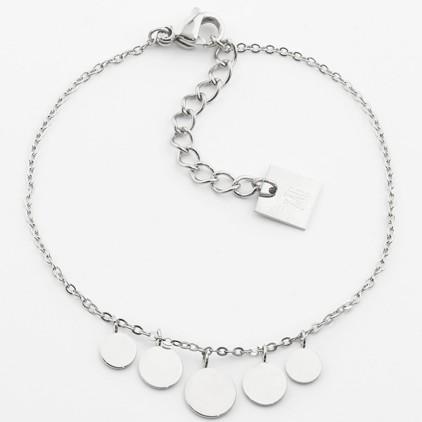 Bracelet Pluton – Acier - ZAG