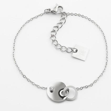 Bracelet Domino – Acier - ZAG