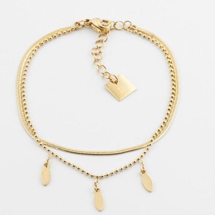 Bracelet Symi – Acier doré - ZAG